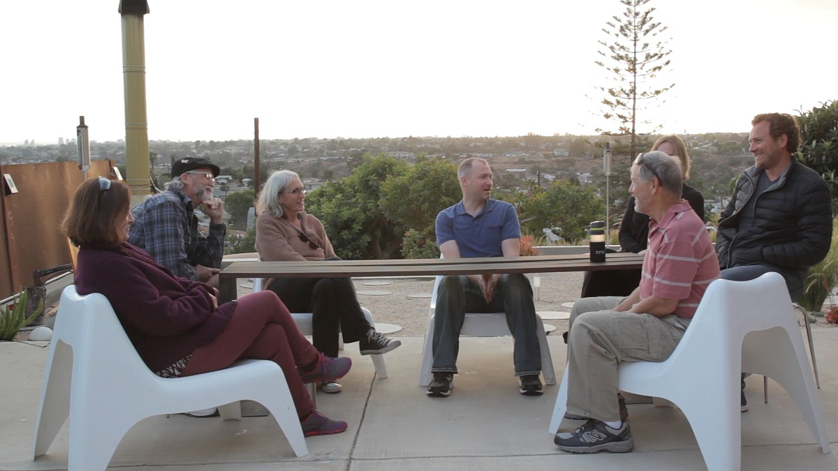 Photo and video by Brian Myers, Media Arts Center San Diego.   A group of mid-city residents has found a new strategy for coping with drought. They've formed a support group of sorts for neighbors interested in conservation.